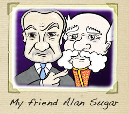 Alan Sugar Cartoon