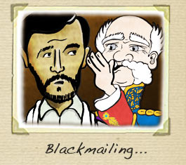 Blackmail cartoon