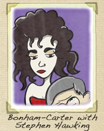 Helena Bonham Carter Cartoon