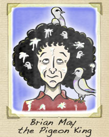 Brian May Cartoon