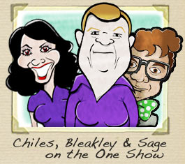 Christine Bleakley and Adrian Chiles One show