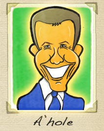 Dale Winton cartoon