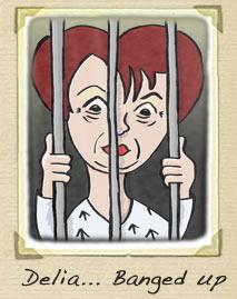 Delia Smith Behind Bars