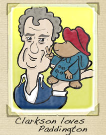 Jeremy Clarkson Cartoon