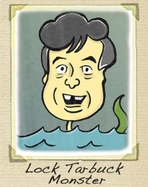 Jimmy Tarbuck Cartoon