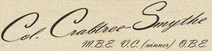 Colonel's signature