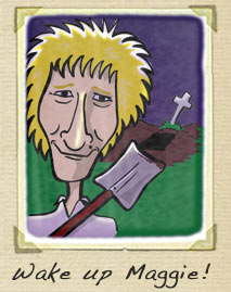 Rod Stewart cartoon