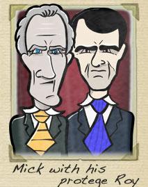 Roy Keane Mick McCarthy
