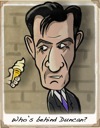 Duncan Bannatyne Cartoon