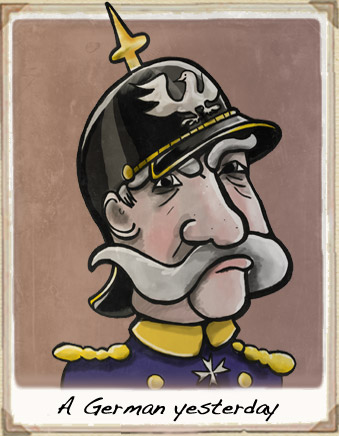 Otto Von Bismark Cartoon