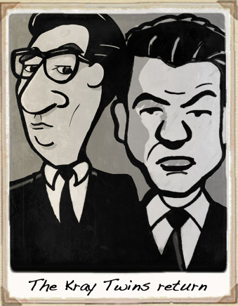 Kray Twins Cartoon