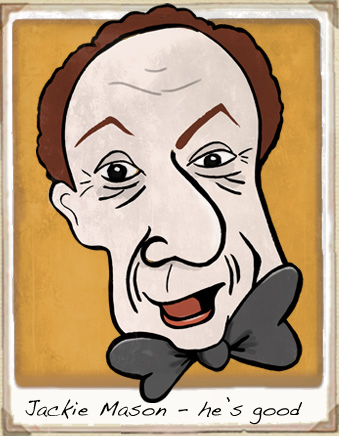 jackie mason cartoon