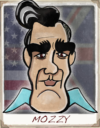 Morrissey Cartoon